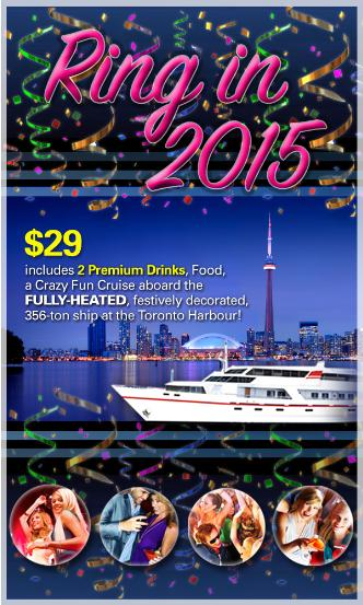 New Years Eve Toronto Cruise