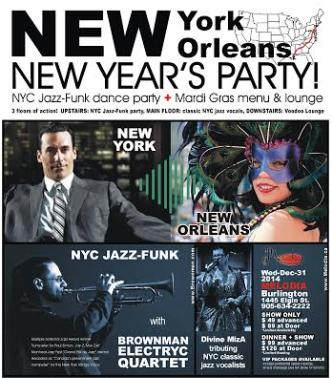 NEW YORK to NEW ORLEANS NYE
