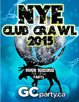 New Years Eve Club Crawl 2015