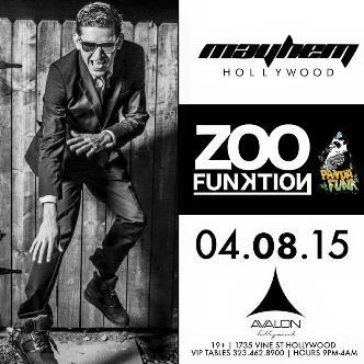 Mayhem  w/ Zoofunktion @ Avalon Hollywood-img