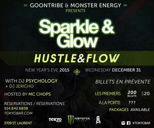 SPARKLE & GLOW - HUSTLE & FLOW