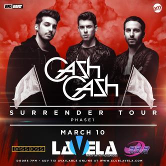 Cash Cash live in concert-img