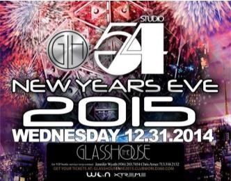 New Years Eve 2015 - Studio 54