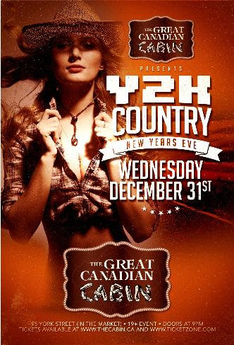Y2K COUNTRY NEW YEARS EVE