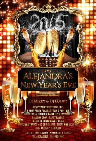 New Year's Eve at Alejandra's