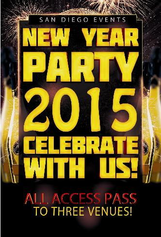 NYE All Access Pass - 3 venues