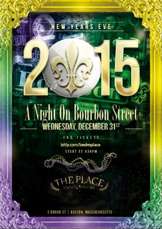 NYE 2015 at The Place - $30