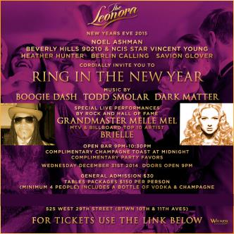 Leonora New Years Eve 2015