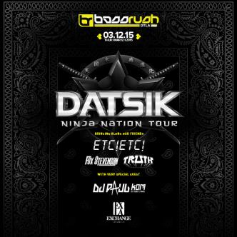 Datsik's Ninja Nation Tour-img