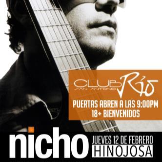 Nicho Hinojosa in concert-img