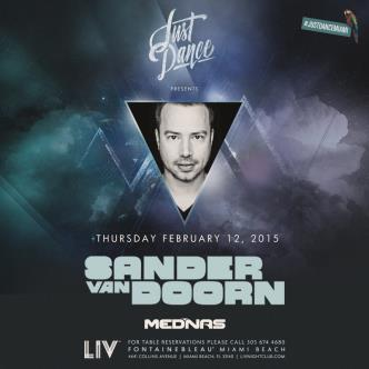 Just Dance presents: Sander Van Doorn LIV-img