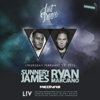 Just Dance presents: Sunnery James & Ryan Marciano LIV-img