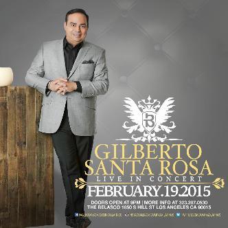 Gilberto Santa Rosa Live in concert-img