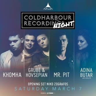 Coldharbour: KhoMha, Grube & Hovsepian, Mr. Pit, Adina Butar-img