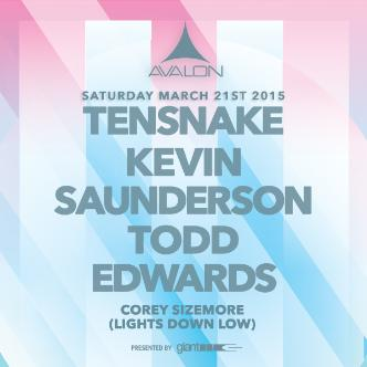 Tensnake, Kevin Saunderson, Todd Edwards-img