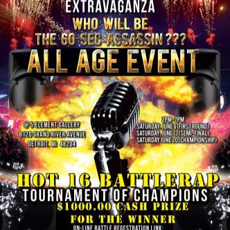 HOT16 Battle Rap Tournament Of Champions-img