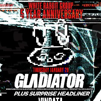 White Rabbit 5 Year Anniversary ft. Gladiator-img