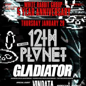 White Rabbit 5 Year Anniversary ft. 12th Planet & Gladiator-img