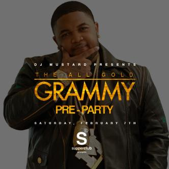 DJ MUSTARD PRESENTS THE ALL GOLD GRAMMY PRE-PARTY-img