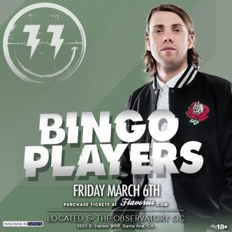 BINGO PLAYERS @ The Observatory OC-img