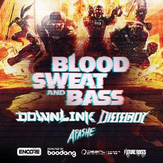 Blood Sweat and Bass Tour ft Downlink, Dieselboy, Apashe-img