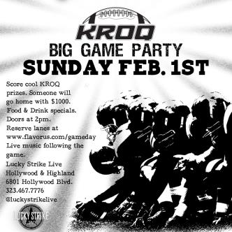 KROQ BIG GAME PARTY!-img