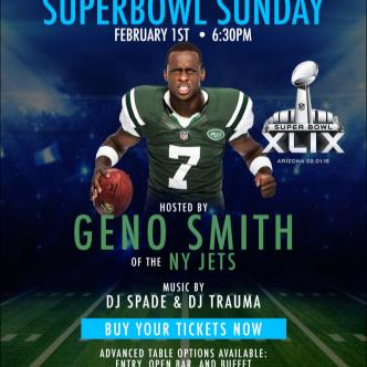 Super Bowl Viewing Party @ FC Gotham w/GENO SMITH of NY JETS-img