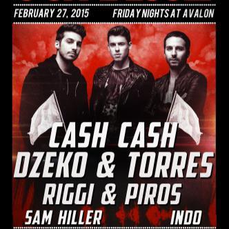 Cash Cash, Dzeko & Torres, Riggi & Piros-img