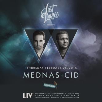 Just Dance presents: Mednas & CID LIV-img