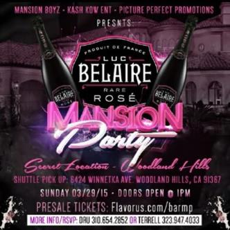 Bel Aire Rose' Mansion Party-img
