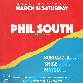 BUMP + PB VINYL present PHIL SOUTH (Golf Channel / NYC)-img