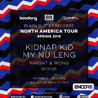 Black Butter Records Spring Tour w/ Kidnap Kid (FREE!)-img