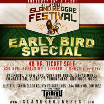 4th Annual Island Reggae Festival