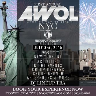 AWOL NYC - 3 Person Packages-img