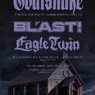Goatsnake / Bl'ast / Eagle Twin-img