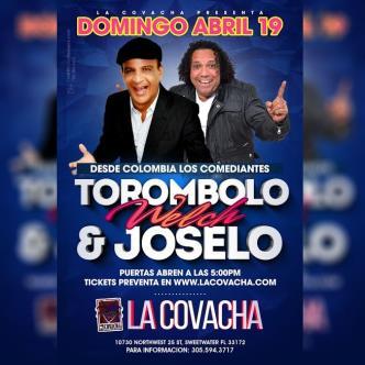 TOROMBOLO WELCH & JOSELO EN LA COVACHA-img