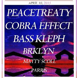 PeaceTreaty, Cobra Effect, Bass Kleph-img