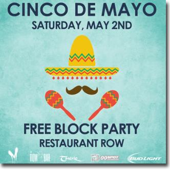 Cinco De Mayo Hispanic Cultural Celebration Party 5pm-img
