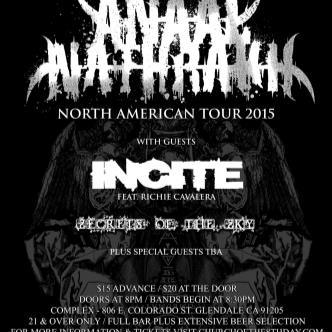 ANAAL NATHRAKH / INCITE / SECRETS OF THE SKY-img