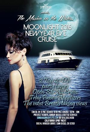 4th Annual Moonlight New Years Eve Cruise by Pier Pressure