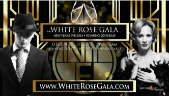 White Rose Gala  NYE Party Denver - 6th Annual