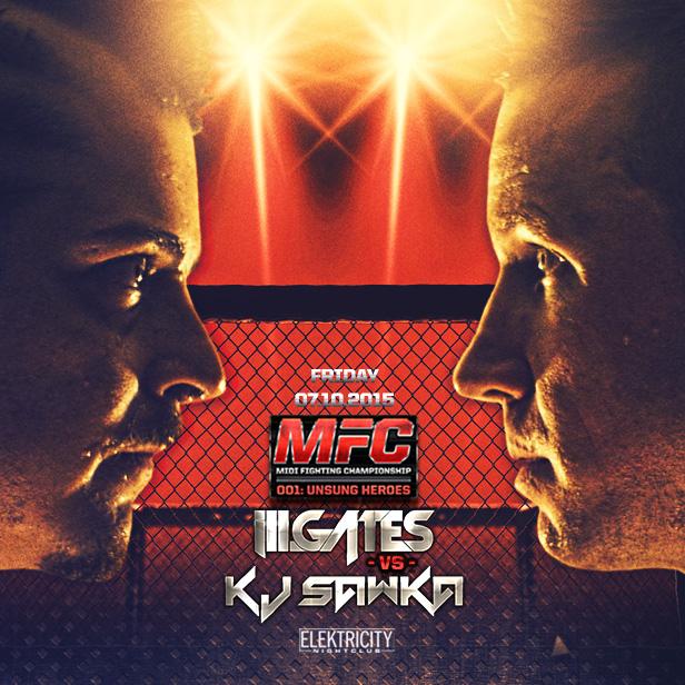 Ill Gates Vs Kj Sawka Mfc Midi Fighting Championship