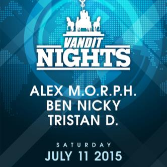 Vandit Night: Alex MORPH, Ben Nicky, Tristan D-img