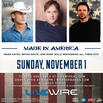 Wade Hayes, Bryan White, Mark Wills-img